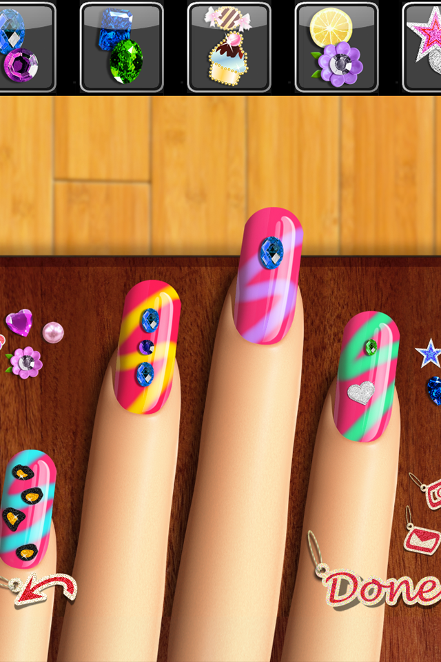 Screenshot Nail Maker: Virtual Manicure
